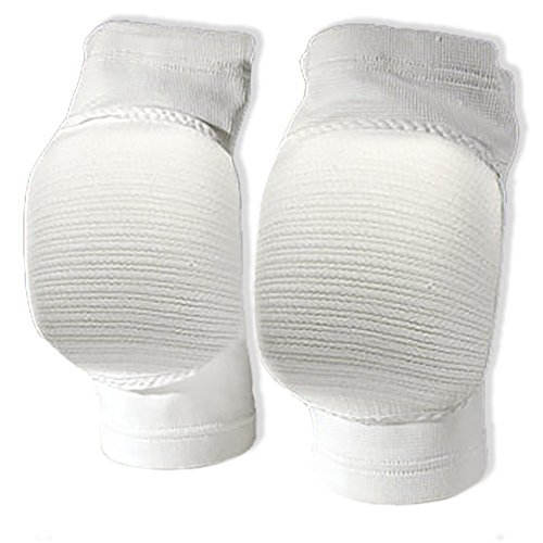 CSI Cannon Sports Elite Competition Volleyball Knee Pads, White