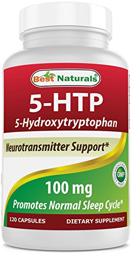 Best Naturals 5-HTP 100 mg 120 Capsules, 5 HTP Capsules Supports Relaxation & restful Sleep