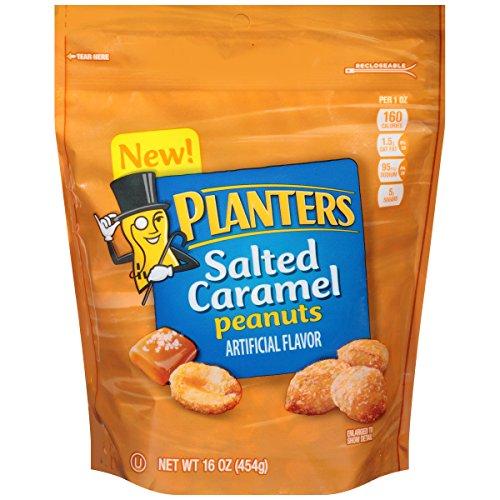 Planters Salted Caramel Peanuts (16 oz Bag)