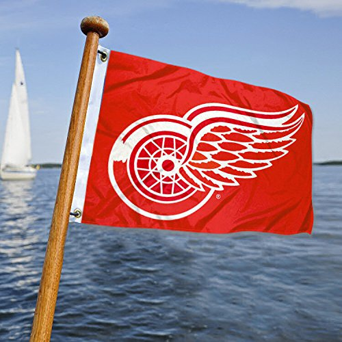 Cheap Detroit Red Wings Boat and Golf Cart Flag
