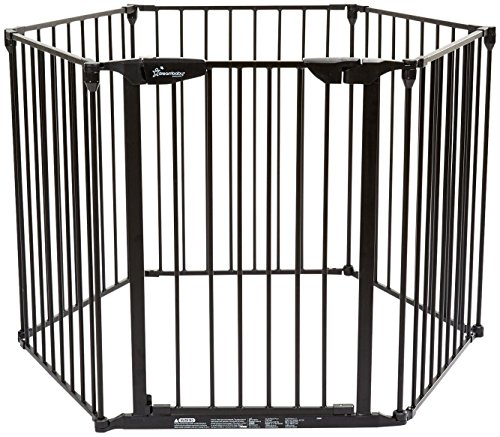 Dreambaby Mayfair Converta 3 In 1 Play-pen 6 Panel Gate, Black by Dreambaby