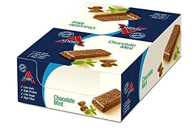 Atkins 60g Advantage Choc Mint Bar - box pack of 16