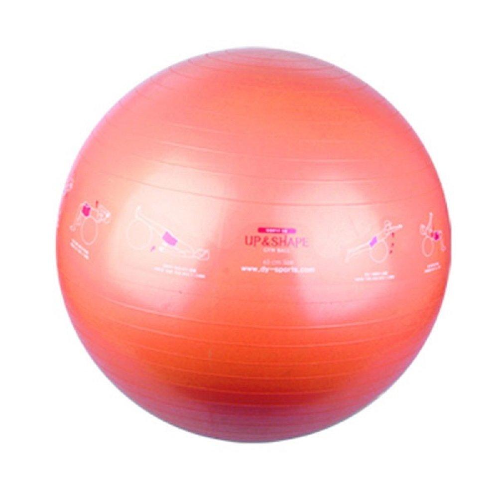 Form bis Aufkleber Gym Ball mit Anleitung – Gymnastikball für Yoga, Fitness, sich