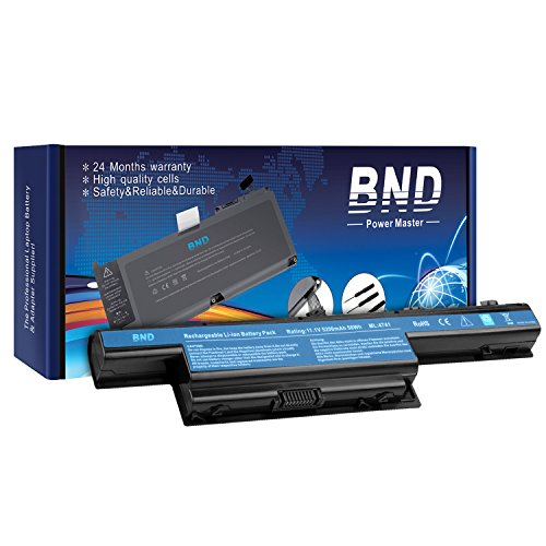 BND 5200mAh Battery for Acer AS10D31 AS10D51 Aspire 5253 5251 5336 5349 5551 5552 5560 5733 5733Z / TravelMate 5740 5735 5735Z 5740G / Gateway NV55C NV50A NV53A NV59C