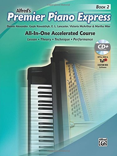 Premier Piano Express, Bk 2: All-In-One Accelerated Course, Book, CD-ROM & Online Audio & Software (Premier Piano Course) PDF