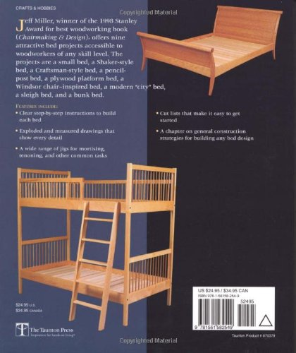 Beds: Outstanding Projects from One of America's Best Craftsmen (Step-By-Step Furniture) by Taunton Press (Image #1)