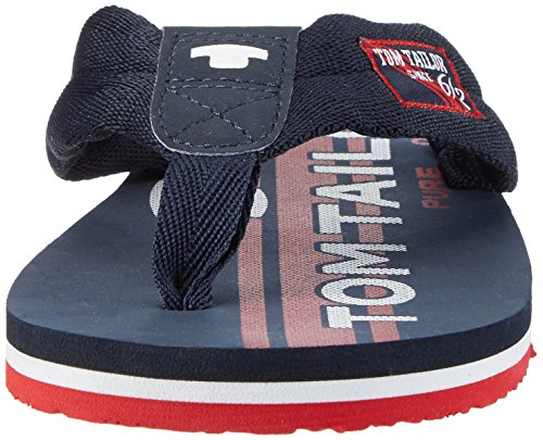 Navy red Azul TOM Chanclas 00117 Tailor Hombre 2781601 para zrqqRAY0