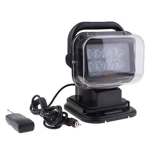 perfk Proyector LED Luz de Busqueda para jardinería y pesca ...