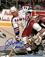 Athlon CTBL-016546 Joe Kocur Signed New York Rangers Photo 94 Cup - Stanley Cup - 8 x 10