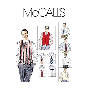 McCall \'s Herren & # 39; S Schnittmuster 2447 Shirts, Weste ...