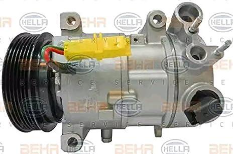 BEHR HELLA SERVICE 8FK 351 316-631 Compresor, aire acondicionado: Amazon.es: Coche y moto