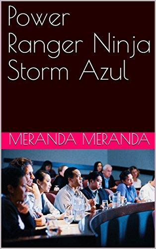 Amazon.com: Power Ranger Ninja Storm Azul (Spanish Edition ...
