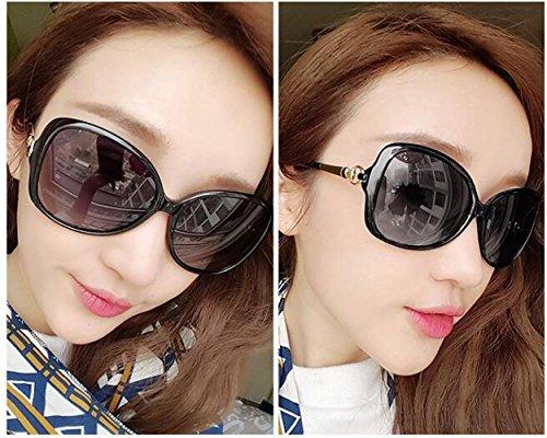 de de sol de la Gafas cara de sol de cara redonda Gafas WYL mujer de larga UV estrella gafas sol B gafas de polarizadas protección marea A gRSHc4Aq8W
