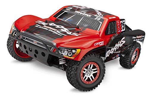 Traxxas 68086-4 Slash 4X4 1/10 Scale 4WD Short Course Truck with TQi 2.4GHz Radio and TSM Mark Jenkins from Traxxas
