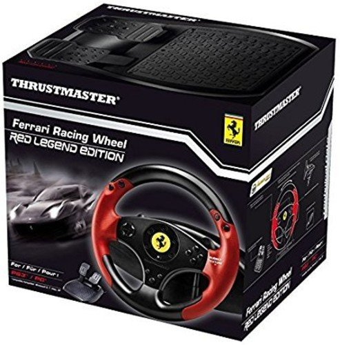 Thrustmaster   Ferrari Racing Wheel – Red Legend Edition – PlayStation 3