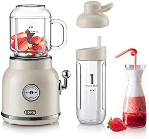 GPFJIAYONG Personal Smoothie Bullet Blender for Shake - Personal Blender for Shakes and Smoothies Portable Blender + 6 Sharp Blades,Small Blender with 20oz Travel, Not Included Travel Cup and Lid