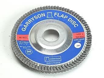 "50pcs 4/"" in x 5//8/""Zirc Flap Disc 60g Stainless Steel /& Metal Grinding Wheel"