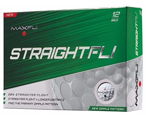 Maxfli Straightfli Golf Balls (12 Pack)