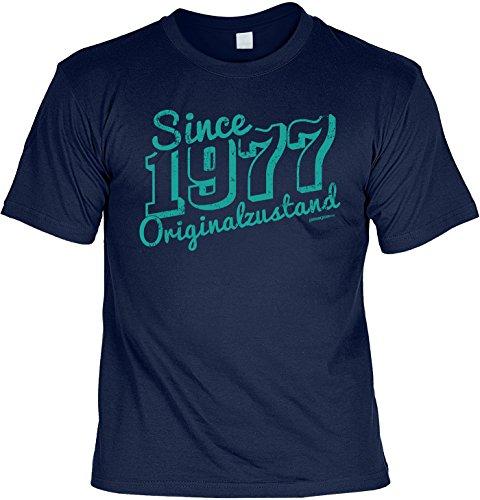 T-Shirt - Since 1977 Originalzustand - lustiges Sprüche Shirt als Geschenk zum 40. Geburtstag