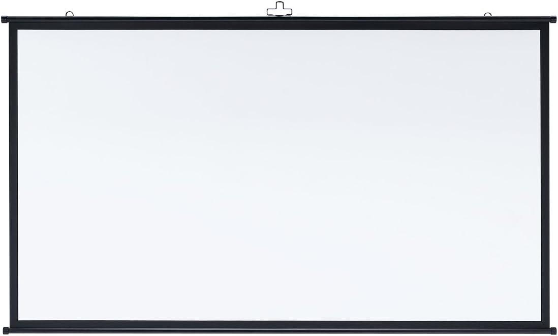サンワサプライ プロジェクタースクリーン 80型HD ワイド 壁掛け ホームシアター PRS-KBHD80