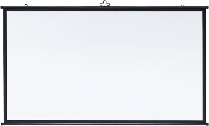 サンワサプライ プロジェクタースクリーン(壁掛け式)(16:9) 80型相当 PRS-KBHD80