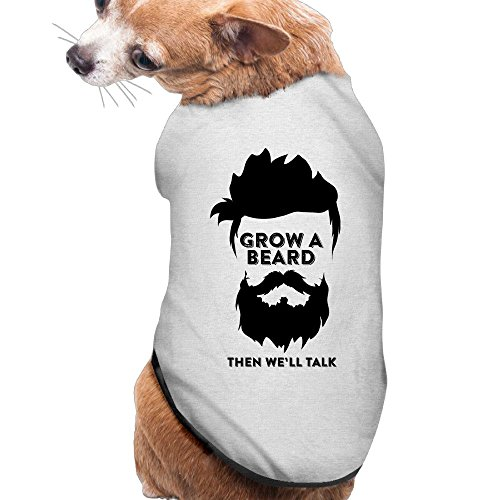YRROWN Grow A Bird Then We Will Talk Funny Design Dog Sweater (Cabaret Outfits)
