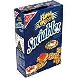 Sociables Baked Crackers, 8-Ounce Boxes (Pack of 6)
