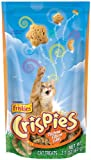Friskies Crispies Chicken Cat food, 2.10-Ounce (Pack of 10)