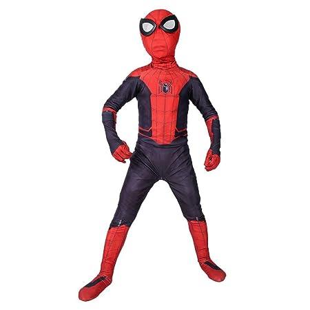 YIWANGO Niños Lejos De Casa Traje De Spiderman Cosplay ...