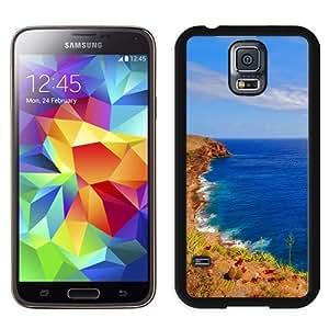 NEW Unique Custom Designed Samsung Galaxy S5 I9600 G900a G900v G900p G900t G900w Phone Case With Sunshine Ocean Coast_Black Phone Case
