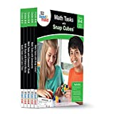 ETA hand2mind Math Tasks Library Books, Grades 6-8