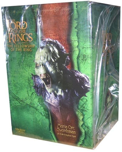 Lord Of The Rings 1/4 Scale Polystone Bust - Series #2 - Moria Orc Swordsman by Sideshow Weta