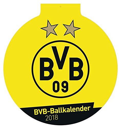 Borussia Dortmund Der Ball ist rund - Kalender 2018