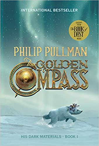 The Golden Compass by Philip Pullman Book Cover