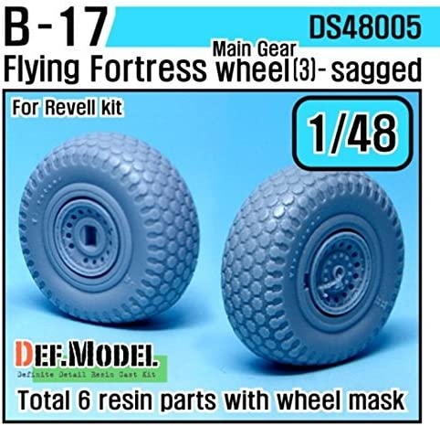 DEF Model 1:48 F-14A Tomcat Wheel set-Early for Tamiya DS48009