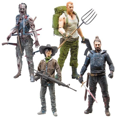 The Walking Dead Comic Series 4 Action Figure Set