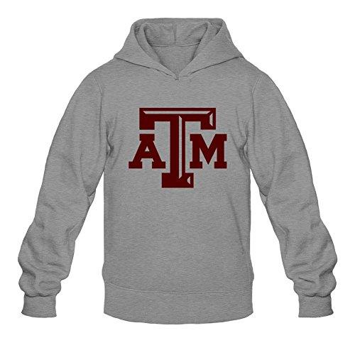 Oryxs Men's Texas A And M University Sweatshirt Hoodie L Dark - Fashion Pentagon Center