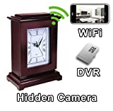 PalmVID WiFi Square Mantel Clock Hidden Camera Spy Camera with Live Video Viewing Review
