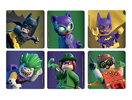 Lego Batman Movie Stickers - Roll of 100 by LS