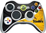 xbox 360 controller cover nfl - Skinit NFL Pittsburgh Steelers Xbox 360 Wireless Controller Skin - Pittsburgh Steelers Design - Ultra Thin, Lightweight Vinyl Decal Protection