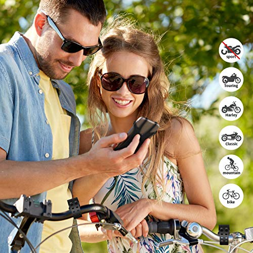 HOTERB Handyhalterung Fahrrad, Fahrrad Handyhalterung 360°Verstellbare Handy Halterung für Fahrrad Universal Handy Fahrradhalterung, Handyhalterung Motorrad Für 4.5-7 Zoll Smartphone