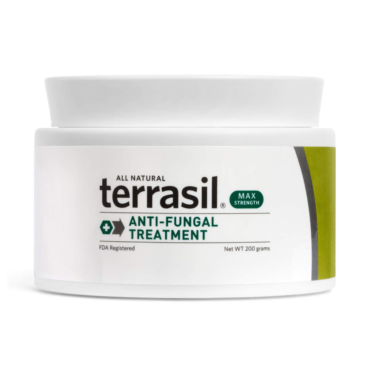 Terrasil® Anti-fungal Treatment MAX - 6X Faster, Doctor Recommended, 100% Guaranteed, All-Natural, Soothing, OTC-Registered ointment for fungal infections (200g Max Jar) by Aidance Skincare & Topical Solutions