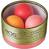 EOS Limited Edition Lip Balm Trio Rachel Roy Edition - Pink Grapefruit - Strawberry Kiwi - Orange Blossom - 0.25 oz each