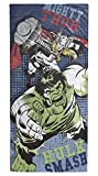 Marvel Avengers Hulk/Thor Soft Cotton 28'' x 58'' Bath, Pool, Beach Towel