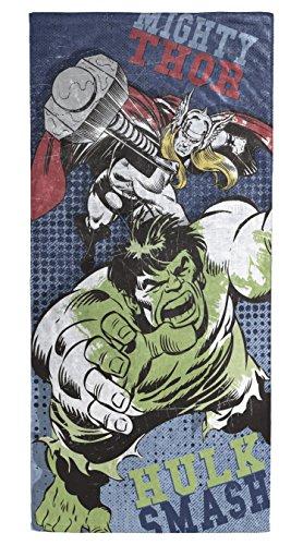 Marvel Avengers Hulk/Thor Soft Cotton 28'' x 58'' Bath, Pool, Beach Towel by Marvel