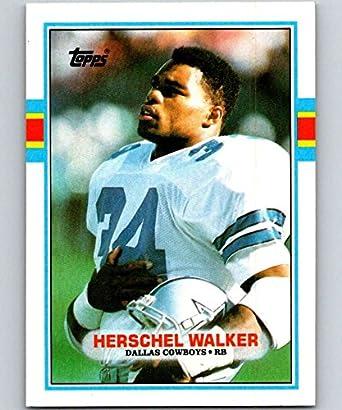 881c20e5557 Amazon.com: 1989 Topps #385 Herschel Walker Cowboys NFL Football ...