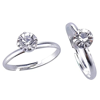 Topoox - Anillos de Ducha para Novia, 40 Unidades, diseño de Diamante, para