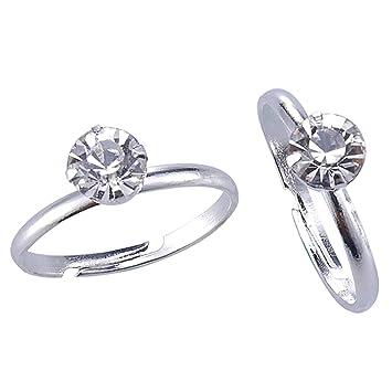 Amazon.com: Despedida de soltera anillos 40 unidades plata ...