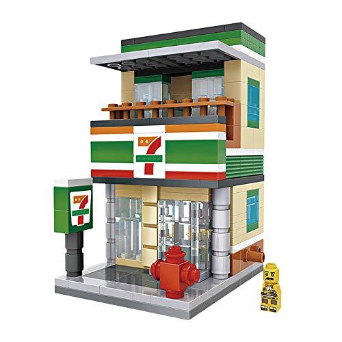 LOZ Building Block Convenient Store Mini Handmade Kit,Construction Toy Birthday Gift Kid Adult(Convenient Store)