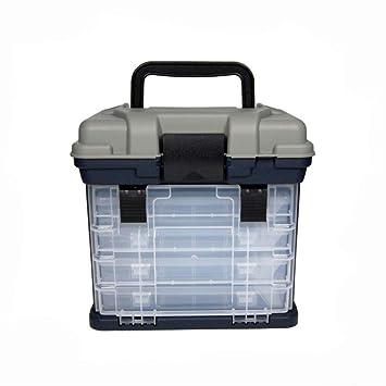 caja de herramientas completa Caja de aparejos de pesca de 4 capas ...